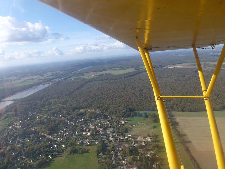Piper J3 - en vol 1