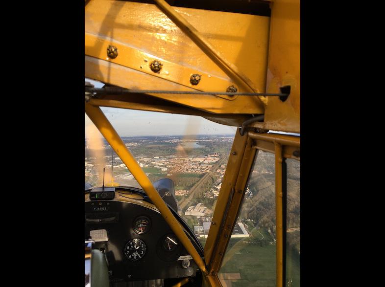 Piper J3 - en vol 3