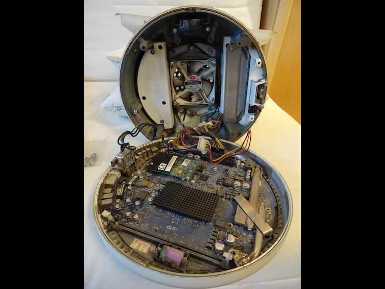 Démontage 5 : L'intérieur : Pas de DVD, HDD ou RAM