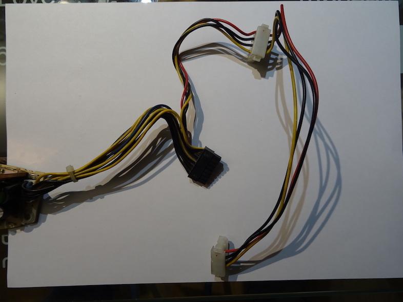 PSU : Il n'y a qu'un connecteur pour tout