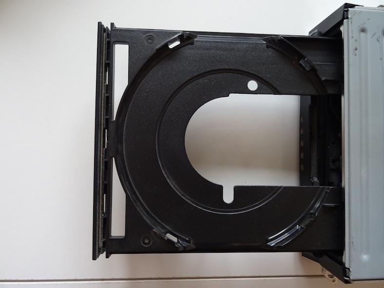 Chassis ATA : L'astuce pour raccourcir le lecteur DVD