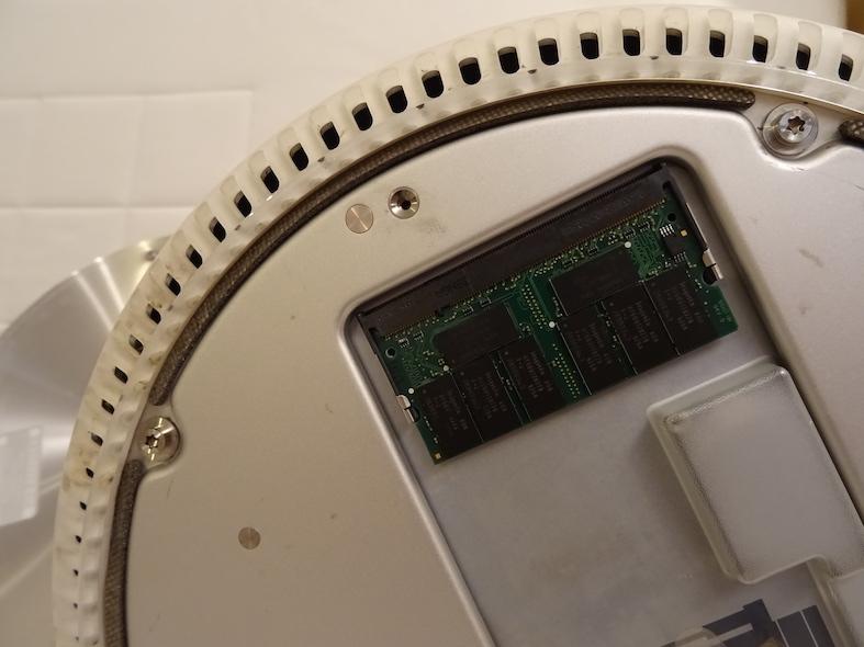 Remontage 6 : Upgrade de la RAM au passage